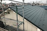 屋根葺き替え+外壁塗装