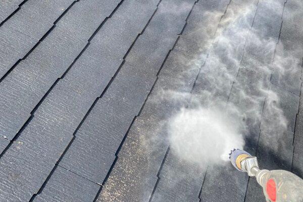 東京都大田区 S様邸 屋根塗装 散水試験 屋根が原因の雨漏り (5)