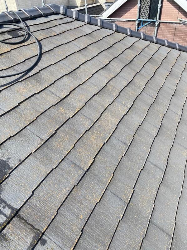 東京都大田区 S様邸 屋根塗装 散水試験 屋根が原因の雨漏り (1)