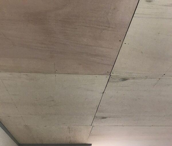 東京都大田区 S様邸 屋根塗装 雨漏り 室内天井 ベニア合板張り (5)