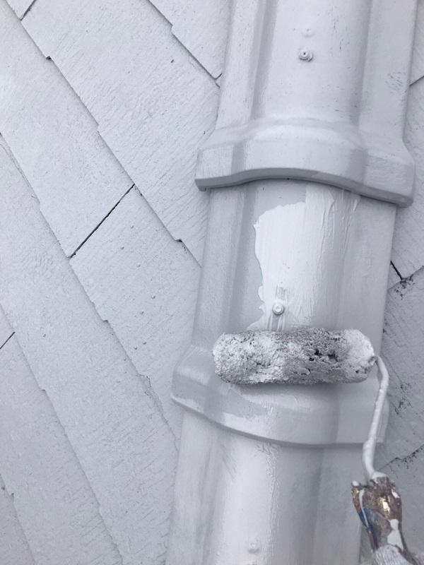 東京都大田区 S様邸 屋根塗装 下塗り~上塗り 日本ペイント ファインパーフェクトベスト (1)