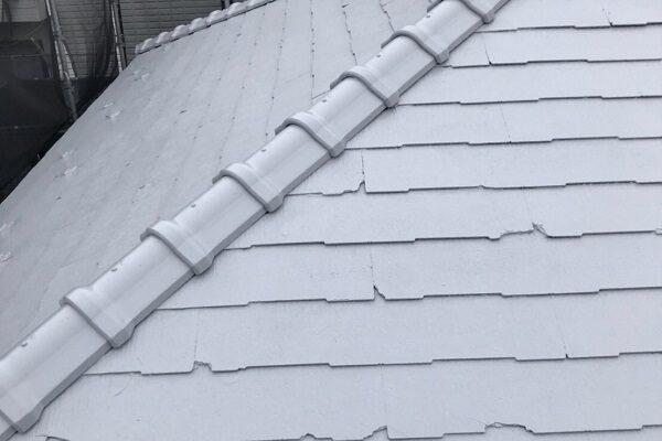 東京都大田区 S様邸 屋根塗装 下塗り~上塗り 日本ペイント ファインパーフェクトベスト (2)
