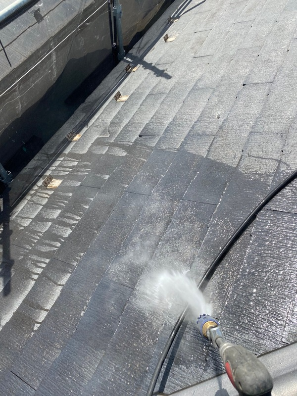 東京都大田区 S様邸 屋根塗装 散水試験 屋根が原因の雨漏り (3)
