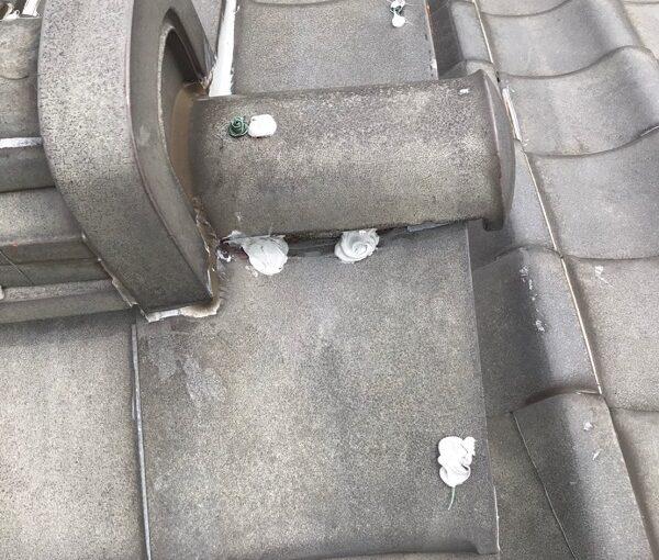 東京都葛飾区 K様邸 雨漏り補修工事 屋根からの雨漏り シーリングによる補修 (10)