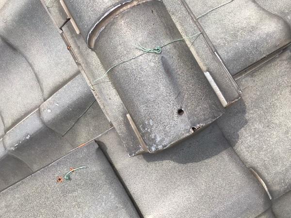 東京都葛飾区 K様邸 雨漏り補修工事 屋根からの雨漏り シーリングによる補修 (2)