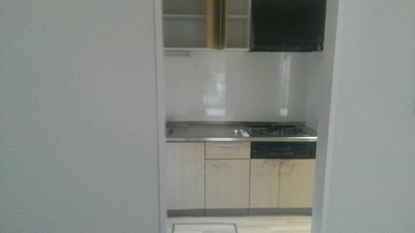東京都荒川区 マンション 内装工事 巾木、ドア塗装 完工 (4)