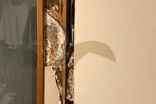 東京都江戸川区 K様邸 雨漏り補修 外壁からの雨水侵入 タイル外壁 (2)