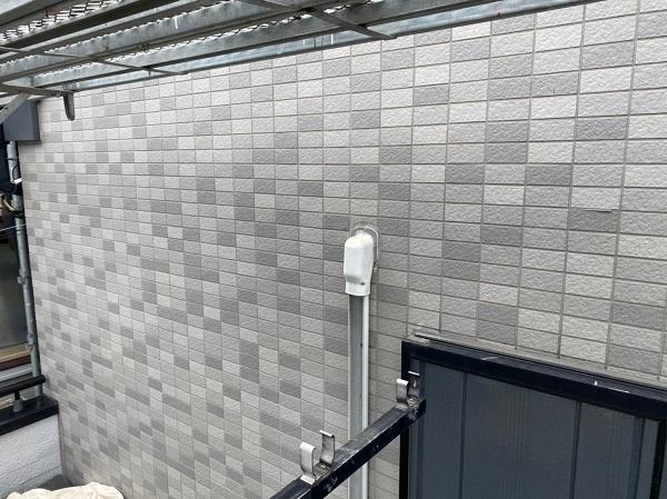 東京都江戸川区 K様邸 雨漏り補修 外壁からの雨水侵入 タイル外壁 (3)