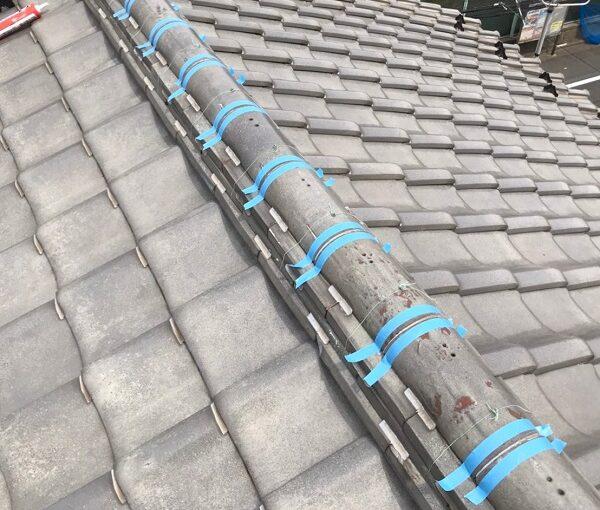 東京都葛飾区 K様邸 雨漏り補修工事 屋根からの雨漏り シーリングによる補修 (3)