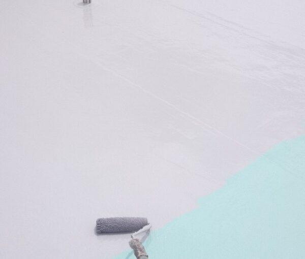 埼玉県春日部市 マンション 防水工事 遮熱性トップコート エクセルトップ (9)