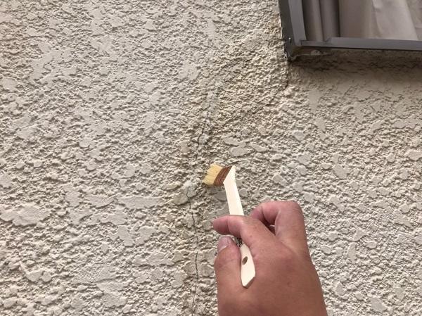 東京都葛飾区 O様邸 雨漏り補修工事 外壁クラック シーリング補修 (24)