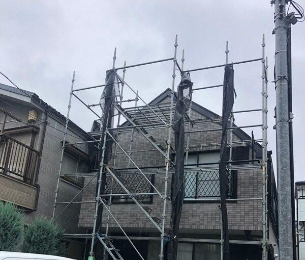 東京都江戸川区 K様邸 雨漏り補修 外壁からの雨水侵入 タイル外壁 (7)1