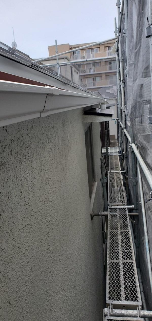 東京都大田区 S様邸 雨樋交換 雨樋が破損するとどうなるか (5)