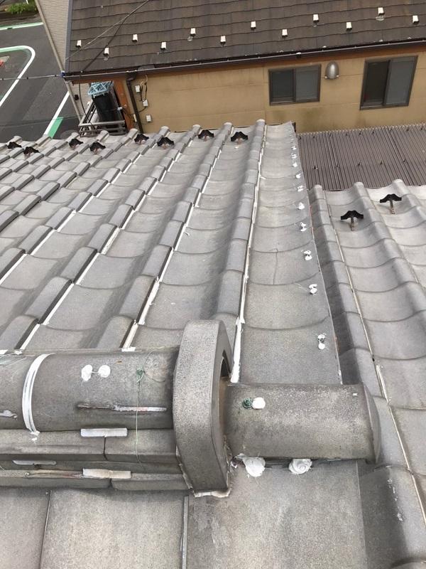 東京都葛飾区 K様邸 雨漏り補修工事 屋根からの雨漏り シーリングによる補修 (11)