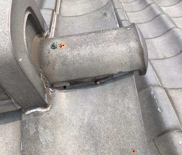 東京都葛飾区 K様邸 雨漏り補修工事 屋根からの雨漏り シーリングによる補修 (5)