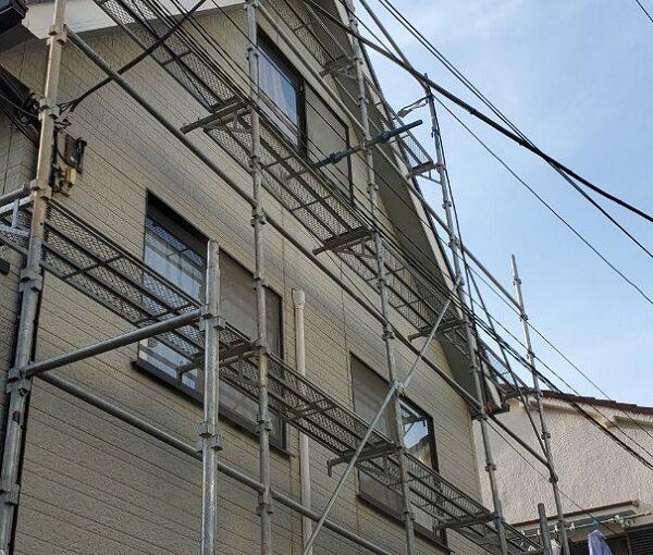 東京都墨田区 E様邸 雨漏り補修工事 雨漏りのサイン 施工前の状態 (6)
