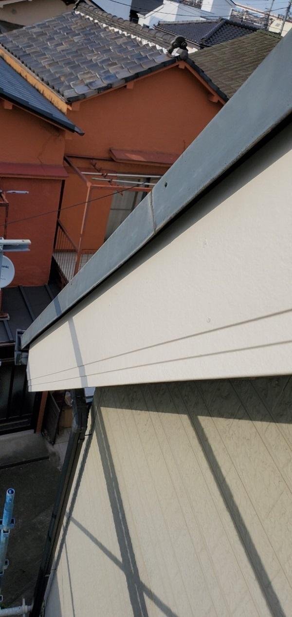 東京都墨田区 E様邸 雨漏り補修工事 雨漏りのサイン 施工前の状態 (7)