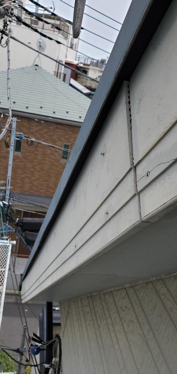 東京都墨田区 E様邸 雨漏り補修工事 雨漏りのサイン 施工前の状態 (17)